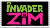 New Invader Zim Logo Stamp by Fruitsi