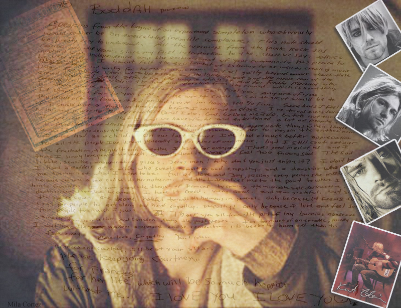 Kurt Cobain by mila cortez