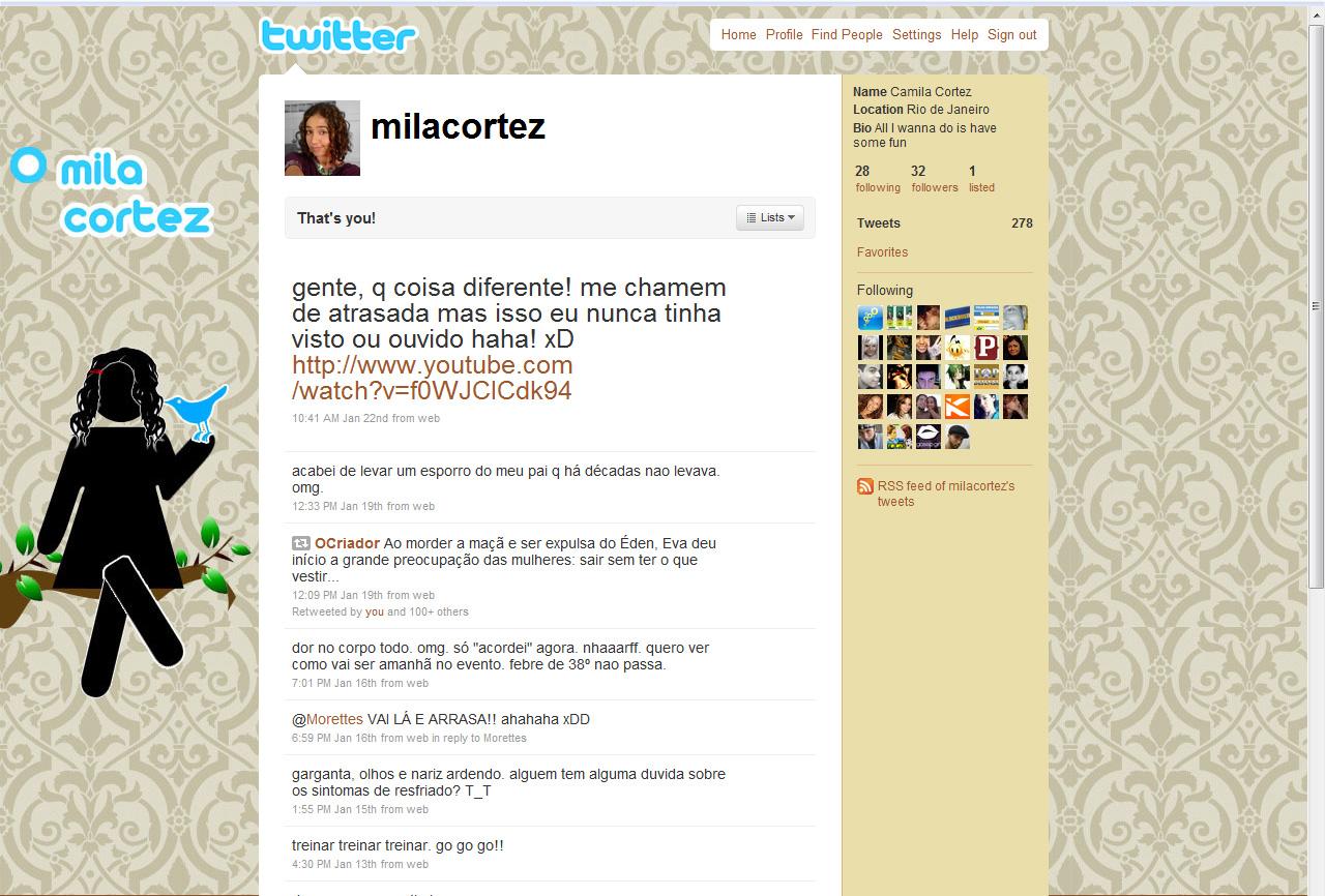 Twitter by mila-cortez