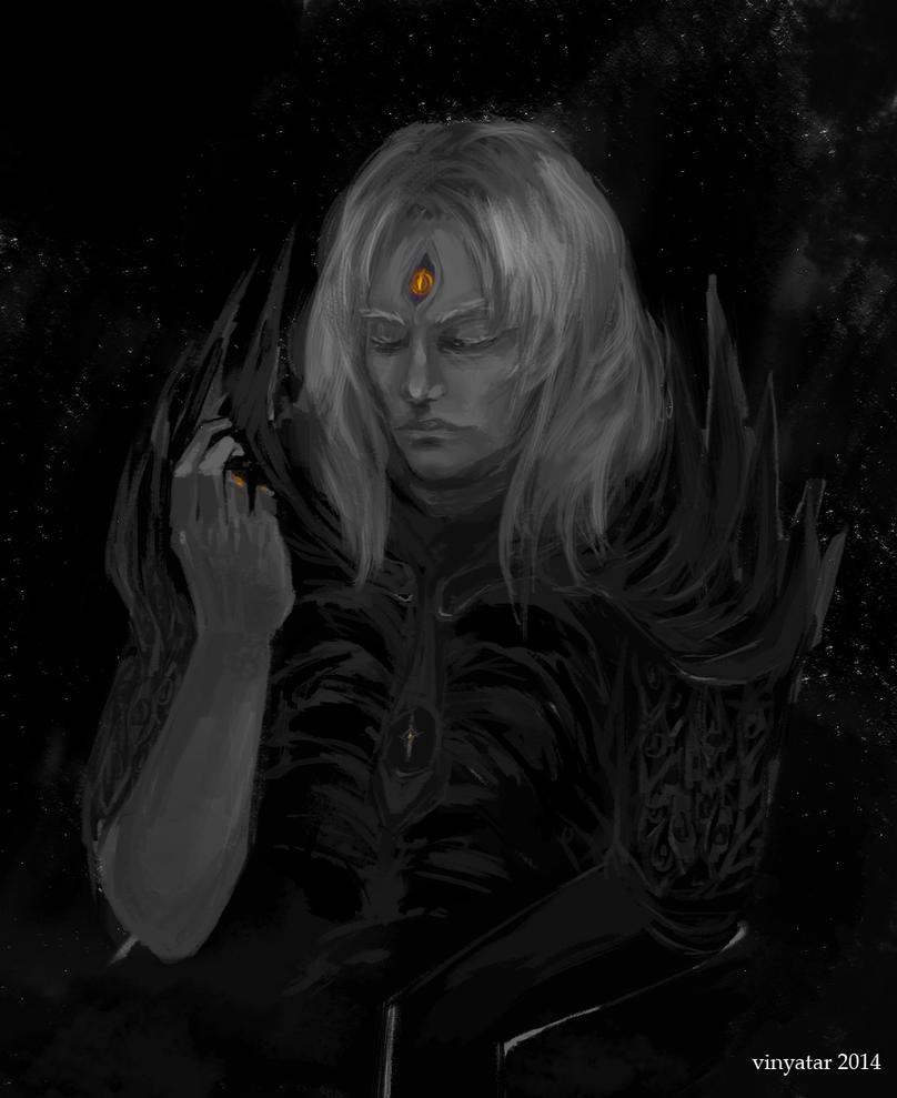 AA: Sauron by vinyatar