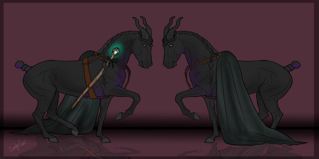 Maleficent Oc By Hp Abrasion On Deviantart
