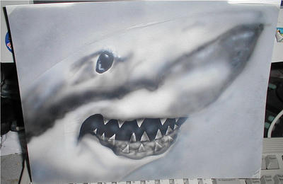 Shark quick paint by xerxes0002