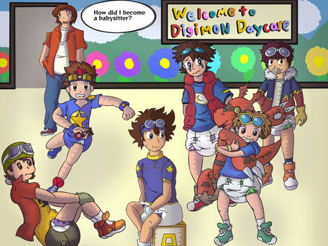 Digimon daycare Redraw