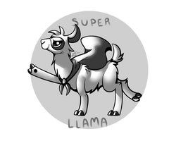 Super Llama!