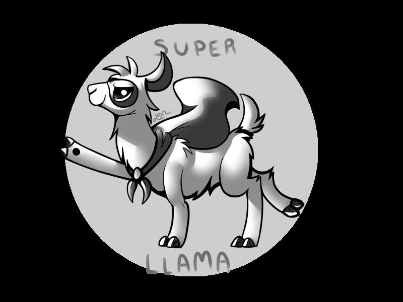 Super Llama! by Lunchwere