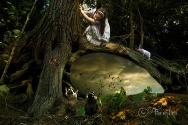 Magic Treehouse by fiorendina