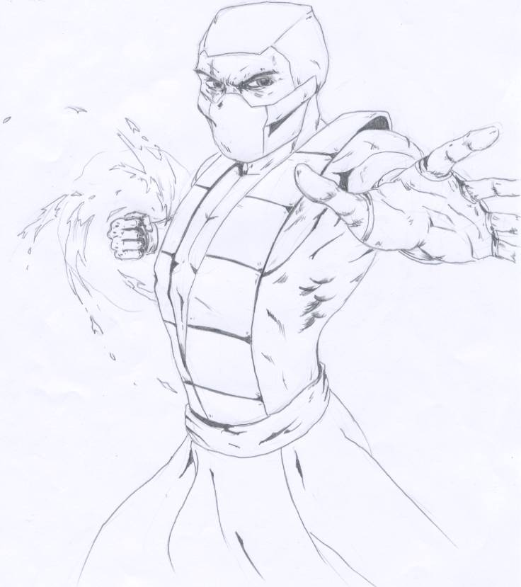 sub-zero from mortal kombat by DantePhoenix21 on DeviantArt