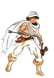 Raider kid by DantePhoenix21