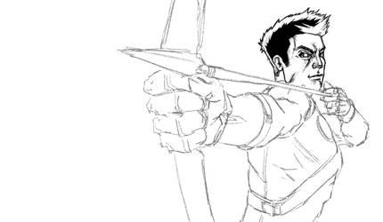 Hawkeye (WIP) by DantePhoenix21