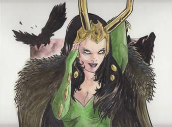 Loki by DantePhoenix21