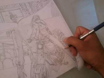 Work in Progress!!!! by DantePhoenix21
