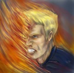 Human Torch by DantePhoenix21