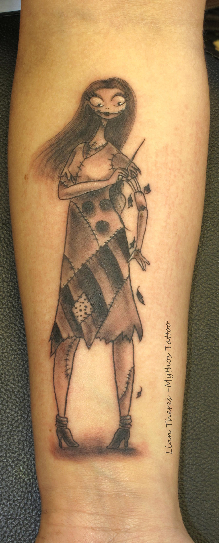 The Nightmare Before Christmas Sally Tattoo, disneyink - My ...