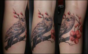 Hedwig by Mythos-Tattoo