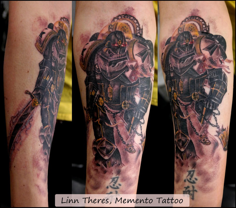 Black Knight Tattoo Designs