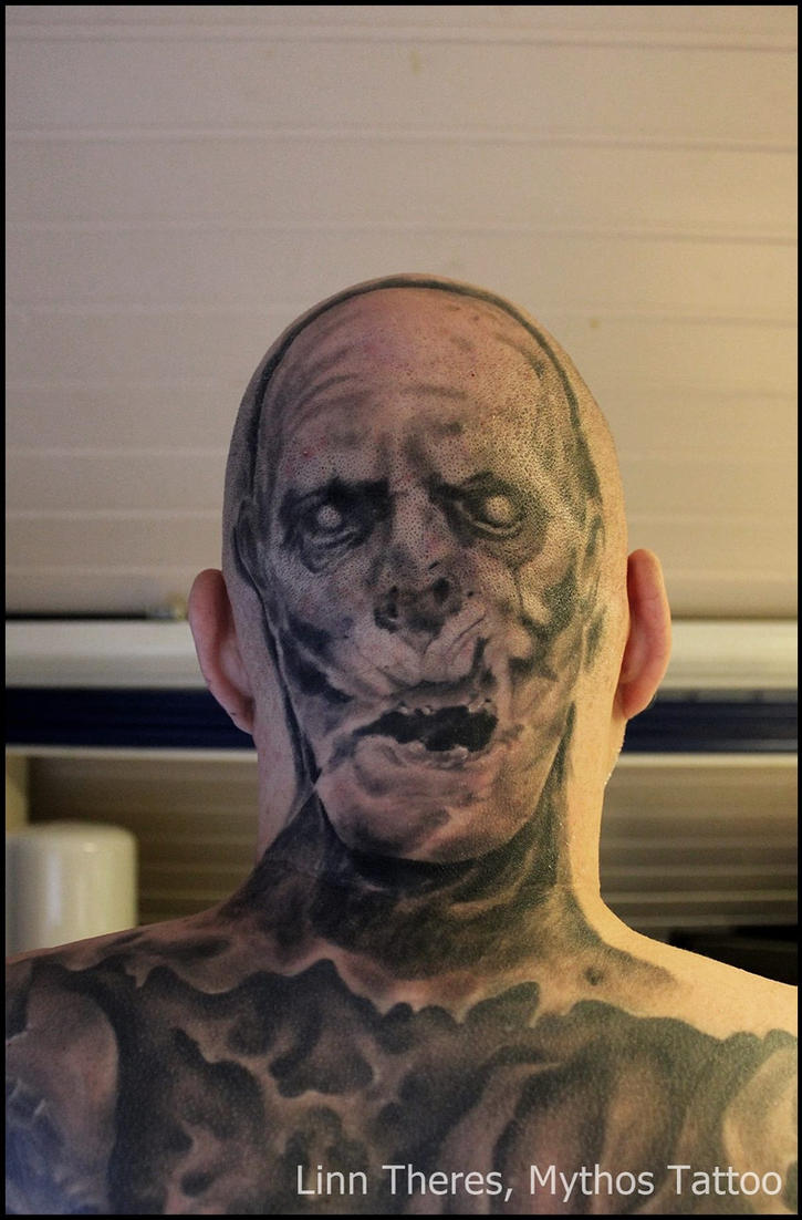 Zombieportrait by Mythos-Tattoo