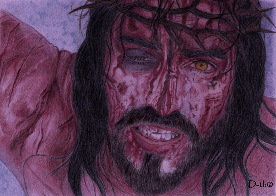 passion of the christ by dethaandreita on passion of the christ by dethaandreita