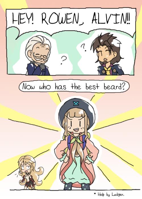 The Beard Challenge by midori-kitty
