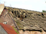 falling roof by pixini-stock