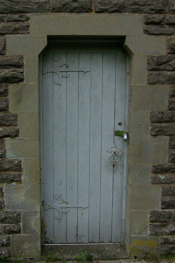 old church door by pixini-stock