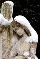 snow angel by pixini-stock