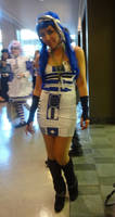 Sexy R2D2 Cosplay