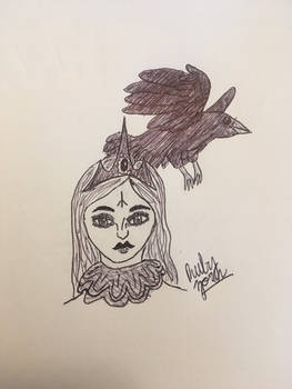 Inktober + Witches: Royal Witch