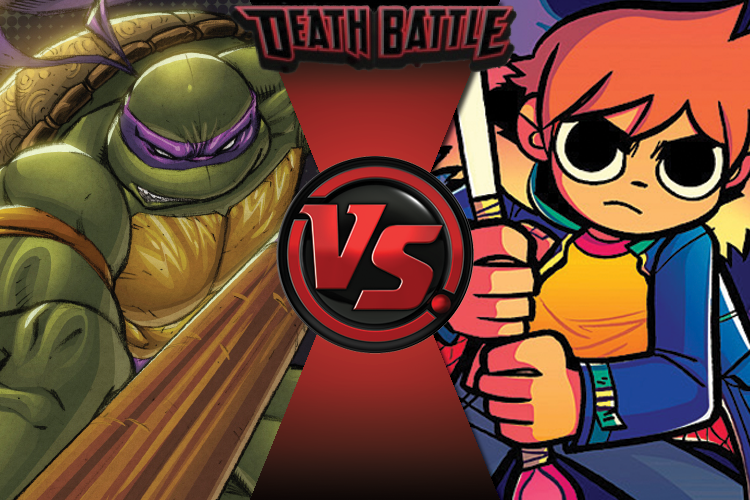 prelude donatello vs scott pilgrim by water frez on
