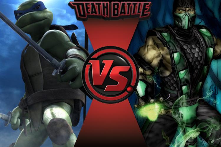death battle leonardo vs reptile by waterfrez on deviantart
