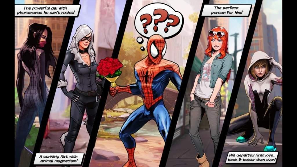 Resultado de imagem para spider man's girlfriends