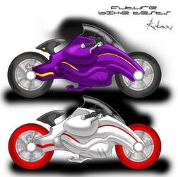 Future Bike - Tests by Rukasu-The-Goblin