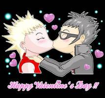Saint Valentine Card by Rukasu-The-Goblin