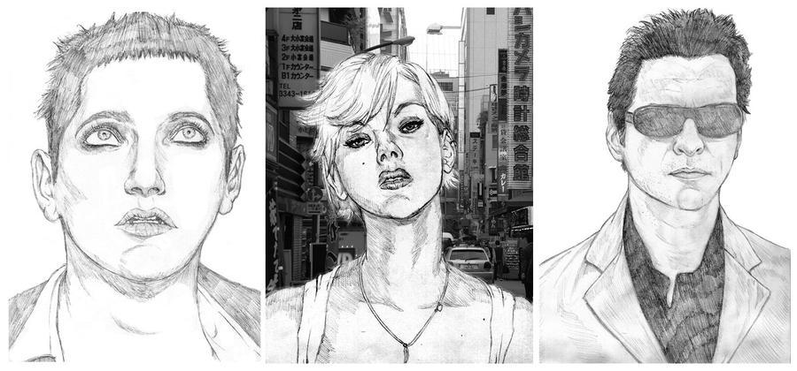 Portrait Tests by Rukasu-The-Goblin