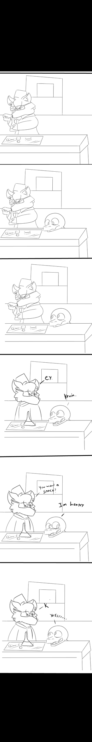 hunger comic ( part 1 ) by Super526