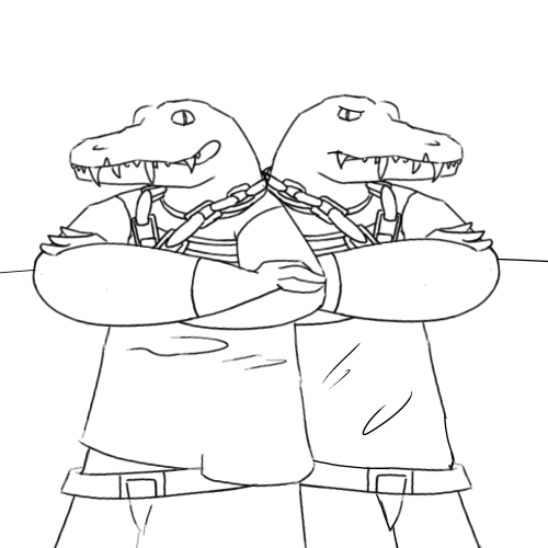 commis- the croc bros. ( lone digger music video ) by Super526