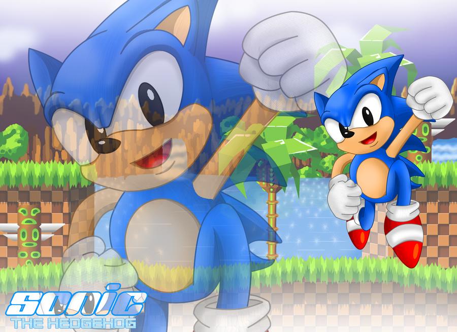 sonic the hedgehog wallpaper. Sonic the Hedgehog WallPaper