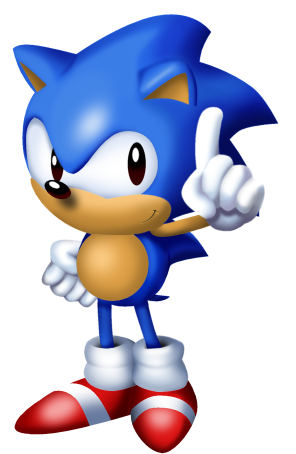 sonic from sonic 3 main menu by tokeitime on deviantart