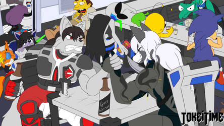Commission: You Wanna Be An Arm Wrestling Idiot