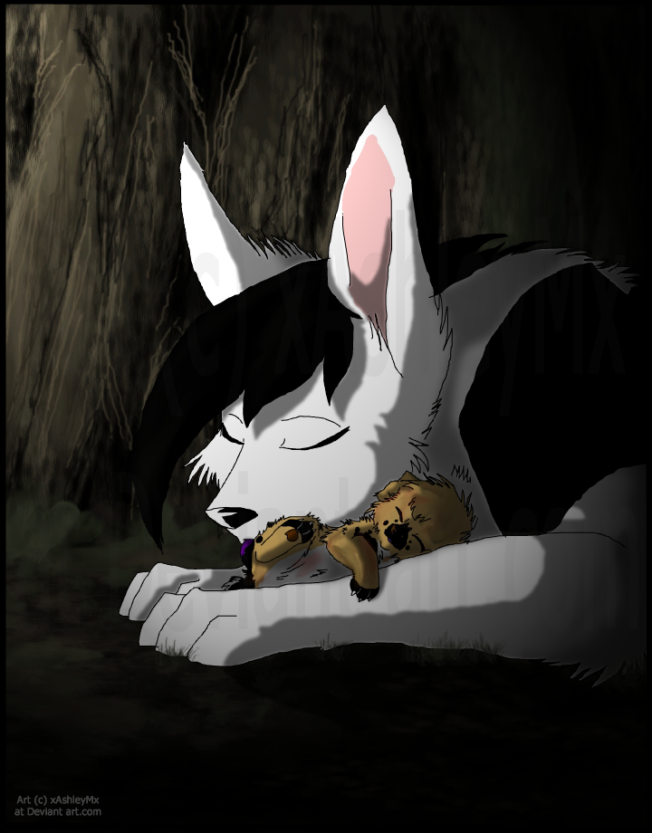 Hush, my little one... by xAshleyMx
