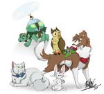 Genderbent MLP Pets