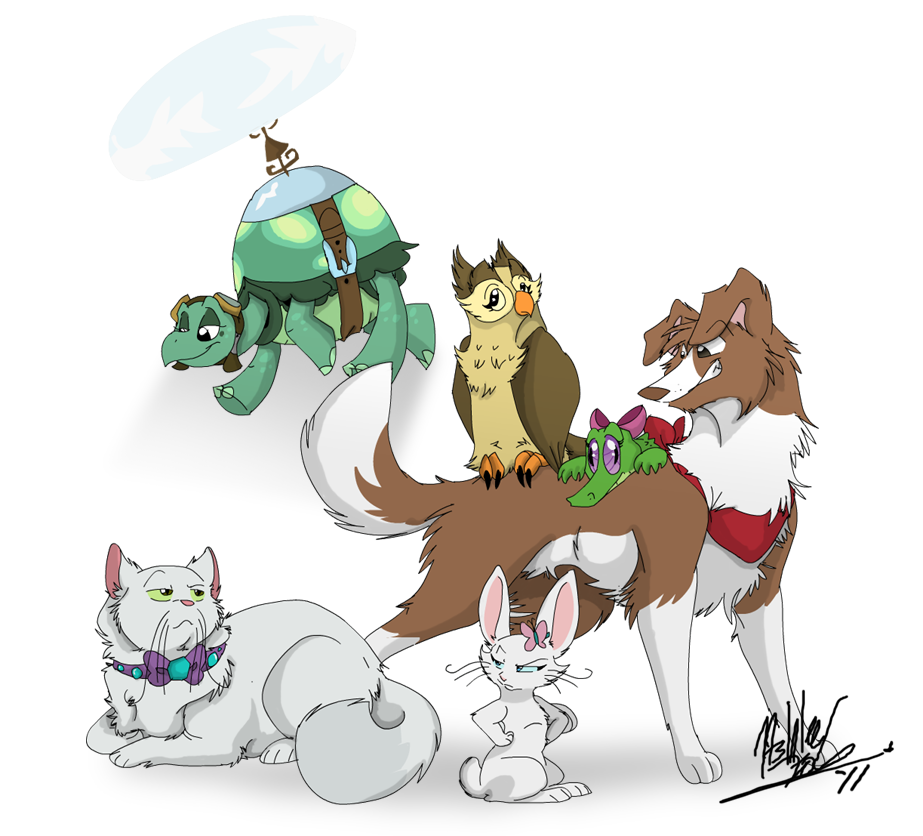 Genderbent MLP Pets by TheCynicalHound on DeviantArt