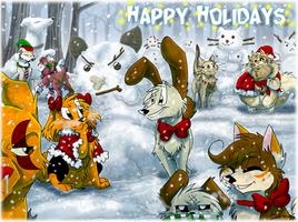 *~Happy Holidays 2015~* by TheCynicalHound
