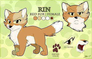 [YinYang]- Rin Ref by TheCynicalHound