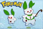 Fakemon: Bunnip and Snoflur
