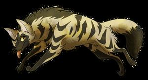 [SeldomSeenSpeciesSunday] Aardwolf by TheCynicalHound