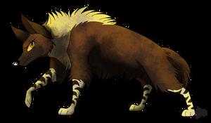 [SeldomSeenSpeciesSunday] Brown Hyena by TheCynicalHound