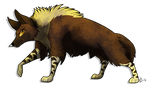 [SeldomSeenSpeciesSunday] Brown Hyena
