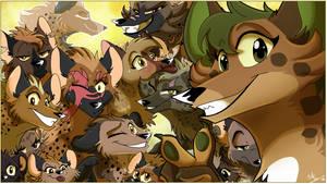 Happy Hyena Day by TheCynicalHound