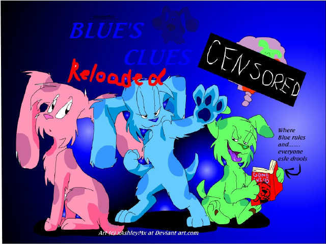 the gallery for gt blues clues magentas messages