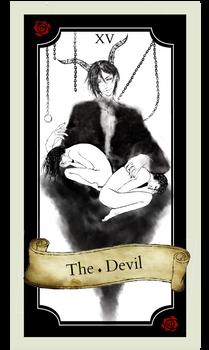 Tarot card XV - The Devil